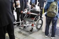 車椅子01 バリアフリー2015/慢性期医療展2015
