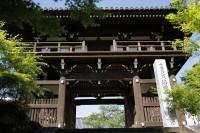 法道寺 中門 南大阪の景色