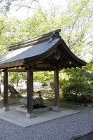 法道寺 手水舎01 南大阪の景色