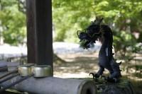 法道寺 手水舎02 南大阪の景色