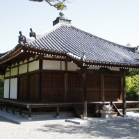 法道寺 大師堂01 南大阪の景色